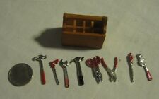 G Scale Trains Unbranded Generic Track tools Metal Hammer Saw Wrench Diorama
