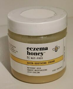 Eczema Honey Original Skin-Soothing Cream Itch Cooling & Healing Nut-Free 4 oz🍯