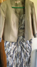 Cabotine Donna Mother of the Bride Dress Jacket Suit.