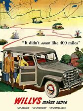 ADVERTISING CAR AUTOMOBILE MAP USA CLASSIC ART POSTER PRINT LV568