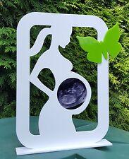 Personalisiert! Baby Rahmen Ultraschallbild Geschenk Schwangerschaft FARBWAHL