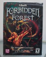 Forbidden Forest PC 2000 Big Box NO GAME INCLUDED