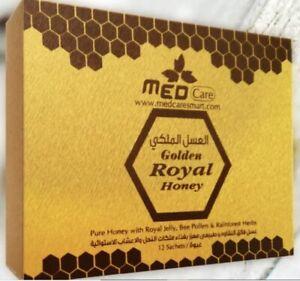 Golden Honey Organic For Men Jelly Bee Pollen 100% Pure Mixed Herbals 20grm 12PC