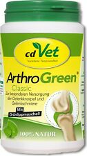 Cdvet 165g Arthrogreen Classic Supplementary Food for Dogs and Cats