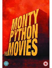 MONTY PYTHON MOVIES Box Set 5 DVD in Inglese (parzialmente in Italiano) NEW .cp