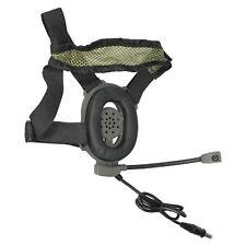 Pryme HZT Bowman Tactical Headset + PTT for 2-Pin Kenwood Wouxun PowerWerx 2-Way