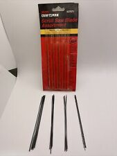 """craftsman scroll saw blade assortment, new old stock, plain end, 5"""" long, Wood"""