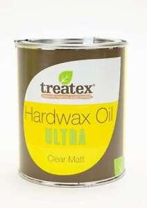 Treatex ULTRA Hardwax Oil - Clear Matt 0.5 Litre