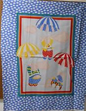 """1 """"Flying Pigs"""" Baby Panel Fabric"""