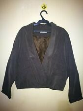 VALLEY GIRL DOLMAN SLEEVE CROPPED BLAZER TAG SIZE S-M