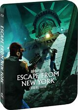 Escape From New York EXCLUSIVE Blu-Ray SteelBook - Limited Quantity Of 10,000
