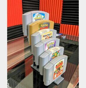 Video Game Cartridge Game Display Holder - N64 / SNES / NES / Sega