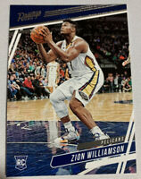Zion Williamson 2019-20 Panini Chronicles Prestige Pelicans RC