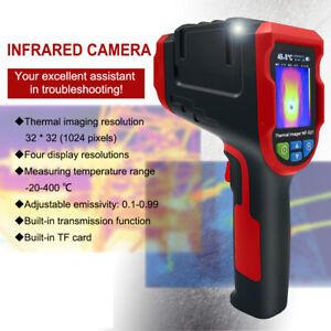 NF-521 Infrared Thermal Imager Camera Temperature-Imaging With 8GB Micro TF Card
