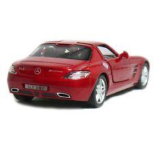 "Brand New 5"" Kinsmart Mercedes Benz SLS AMG Diecast Model Toy Car 1:36 Red"