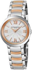 Baume & Mercier Women's Promesse Stainless Steel/Rose Gold Quartz Watch A10159