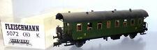 Fleischmann 5072B, Personenwagen 3. Kl. SNCB, Export, unbespielt in OVP /F186