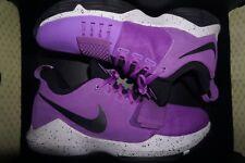 Nike PG 1 Bright Violet Purple Black White Paul George 878627-500 Mens Sz 12