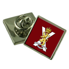 Army The Scots Division Silver 925 Badge