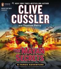 The Mayan Secrets by Clive Cussler, Thomas Perry & Scott Brick- Audiobook CD