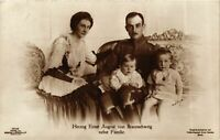 CPA AK Herzog Ernst August v. Braunschweig Familie GERMAN ROYALTY (868062)