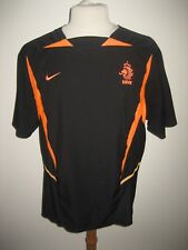 Holland away knvb football shirt soccer jersey voetbal maillot trikot size L