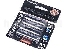 Panasonic eneloop pro XX BK-3HCCE Rechargeable 2550 mAh AA Battery x4 NEW