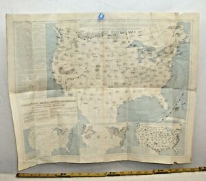 1945 2/24 UNITED STATES WEATHER MAP FORECASTS AND GENERAL WEATHER INFORMATION