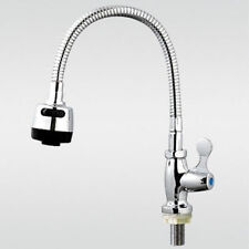 kitchen faucet Taps Chrome pull out wall mount sink faucet 2-function Cobra V