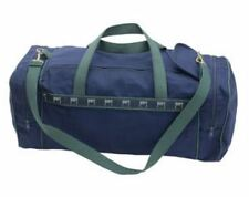 Authentic Deluxe Goldman Sachs Duffle Bag - Navy & Hunter Green