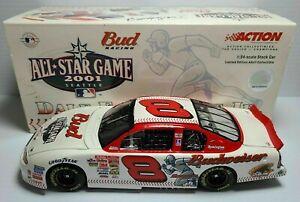 DALE EARNHARDT JR 2001 MLB ALL-STAR GAME BUD 1/24 ACTION DIECAST CAR 1/54,408