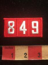 Boy Scout TROOP 849 Patch 86WJ