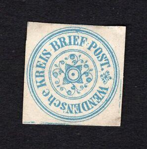 Germany 1862 stamp Mi#(1) MNG CV=5,50€