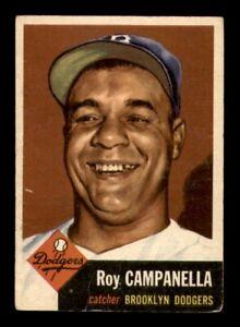 1953 Topps Set Break #27 Roy Campanella VG-EX *OBGcards*