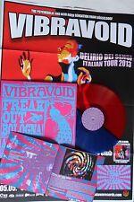 LP VIBRAVOID Freak Out Bologna (RED/BLUE VINYL) Krauted Mind Rec. KMR 011/1