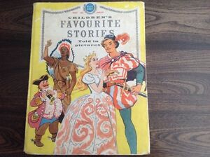 Children's Favourite Stories told in pictures vintage hardcover annual book