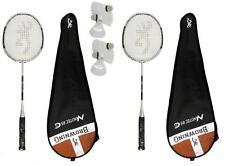 2 x Browning Nanotec CTi 85 Badminton Rackets + 6 Carlton Shuttles RRP £470