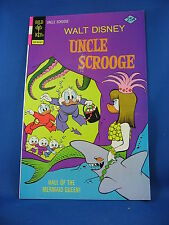 UNCLE SCROOGE 125 VF-  Gold Key Barks North of the Yukon 1976