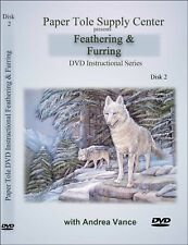 Learn Paper Tole DVD 2 Feathering & Furring Techniques