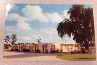 Avon Motel in Avon Park FL vintage glossy postcard - retro motor court inn lodge