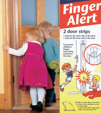 Finger Alert Guard Protects Against Pinched Fingers on Both Sides of Door 33556