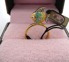 Auth Juicy Couture Tropical Fish Mini Wish Ring Mini Wish Ring $48