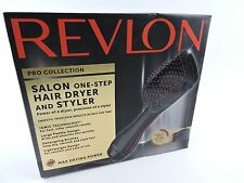 Revlon Salon One Step Hair Dryer & Styler Paddle Brush,   RVDR5212  NEW Open Box