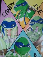 Teenage Mutant Ninja Turtles yaoi doujinshi CANDY ICE Primary Kingdom (B5 20page