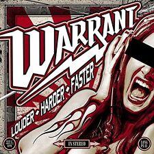 Louder Harder Faster - Warrant (2017, CD NEUF)