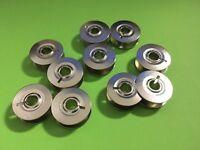 10 x Nähmaschinen Umlaufgreifer Spulen Metall für PFAFF und Gritzner, 3 Teilig
