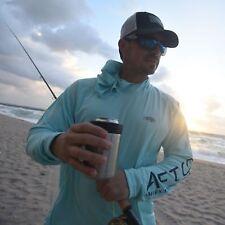 AFTCO Samurai Sun Protection Hoodie-Fishing Shirt-UPF 50-Mint Green -Free Ship