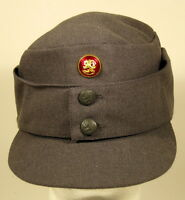Finnish Finland Army M/65 Field Utility Dress Hat Cap W/ Officer Cockade Pip