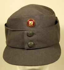 Finnish Finland Army M/65 Field Utility Dress Hat Cap W/ Officer Cockade Pip