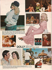 Dolly Parton- Here You Come Again/Nashville On The Road 1978 Ad- 2 page ad